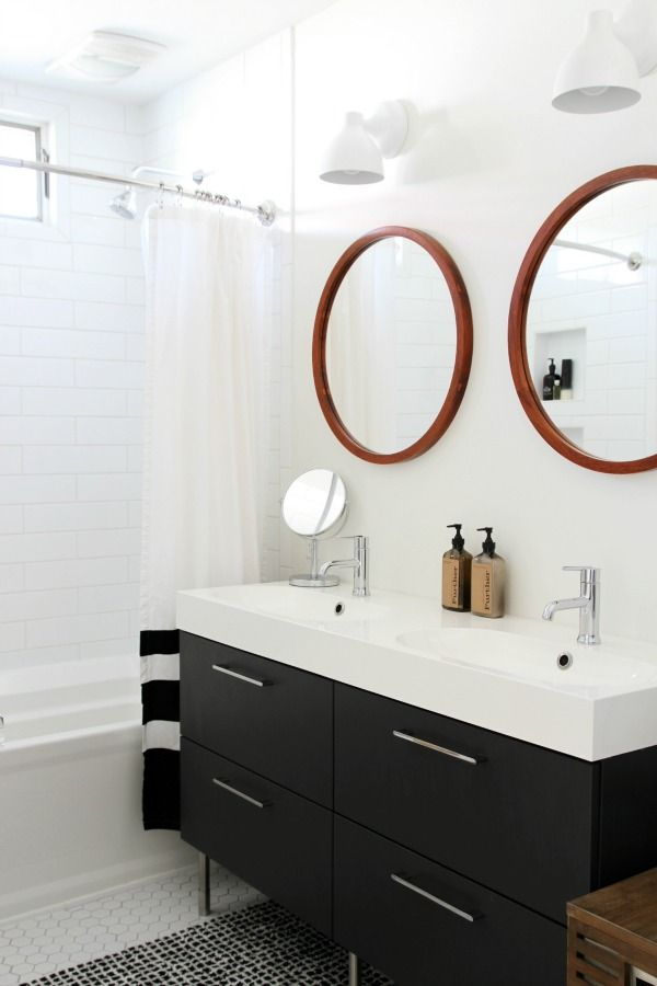 24 best images about bathroom ideas on pinterest | round mirrors