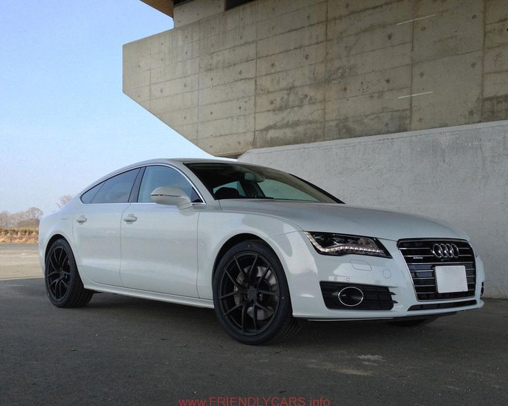 Awesome Audi A7 Black Rims Car Images Hd Audi A7 White