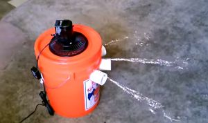 DYI of the Day: Homemade Air Conditioner With a Bucket and Fan - The Good Men Project Magazine