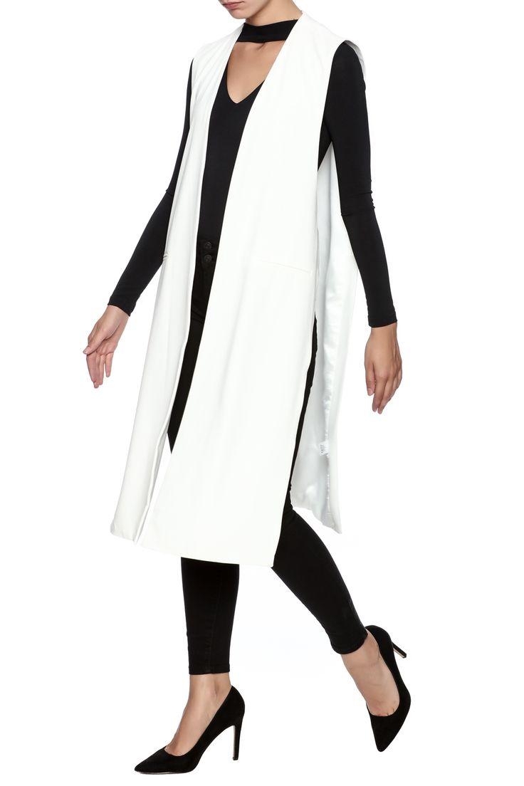 Best 25 Duster Vest Ideas On Pinterest Long Vest Outfit
