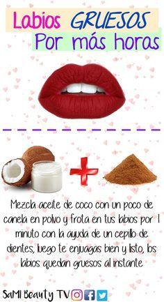 Si quieres conocer más tips para unos labios gruesos y con volumen, visita el v…