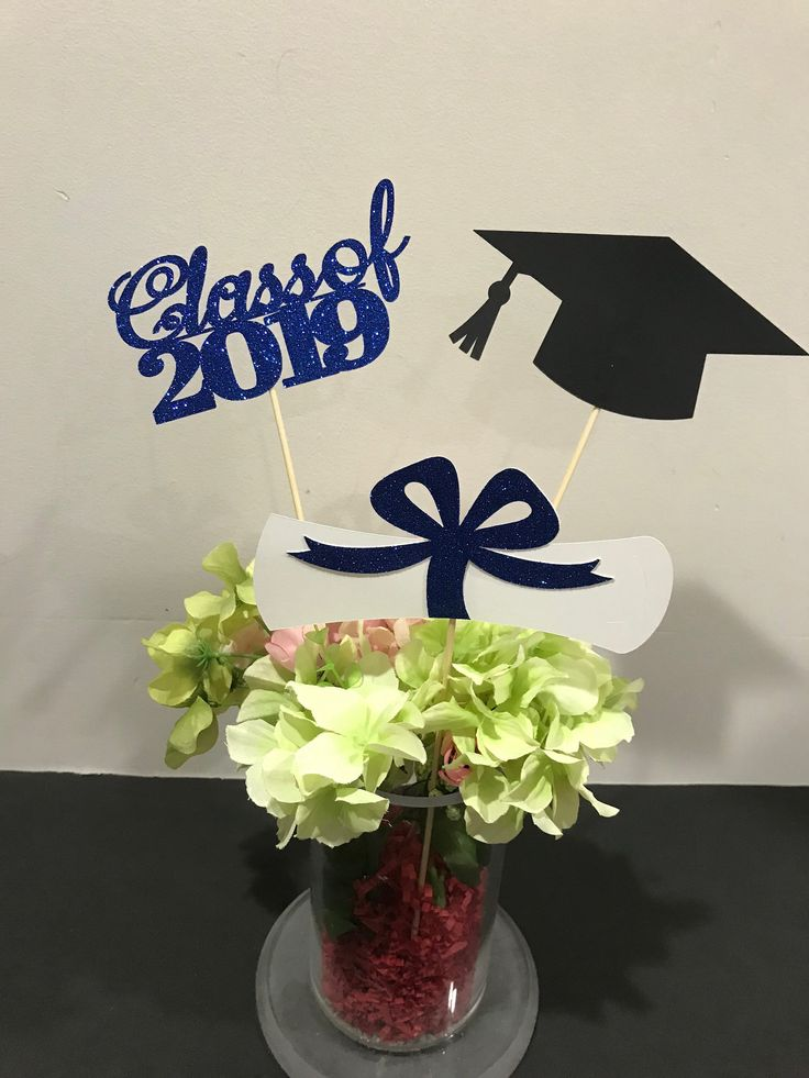 I would like to share the latest that I have added to my # etsy shop: Graduation Celebrations 2019 Graduation Centerpiece Sticks, Degree, Cap, Diploma ...