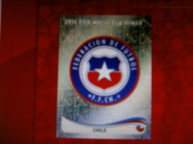 Seleção Chilena. Logo . 25/04/2014.