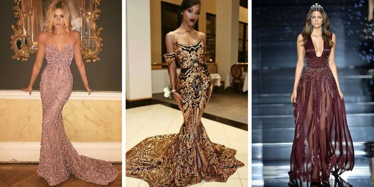 32 beautiful models of modern evening dresses