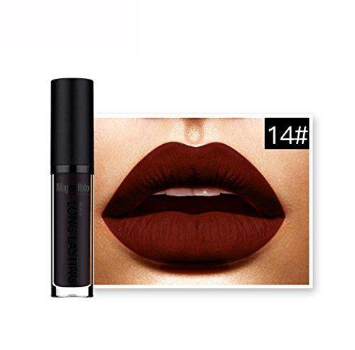 cool Lápiz labial mate de maquillaje,Internet Mate impermeable líquido del lápiz labial de larga duración Lip Gloss Labial Mas info: http://comprargangas.com/producto/lapiz-labial-mate-de-maquillajeinternet-mate-impermeable-liquido-del-lapiz-labial-de-larga-duracion-lip-gloss-labial/