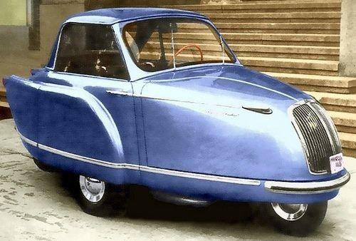 1958 Prvenac (Firstborn) 250cc Microcar.Made in Yugoslavia…