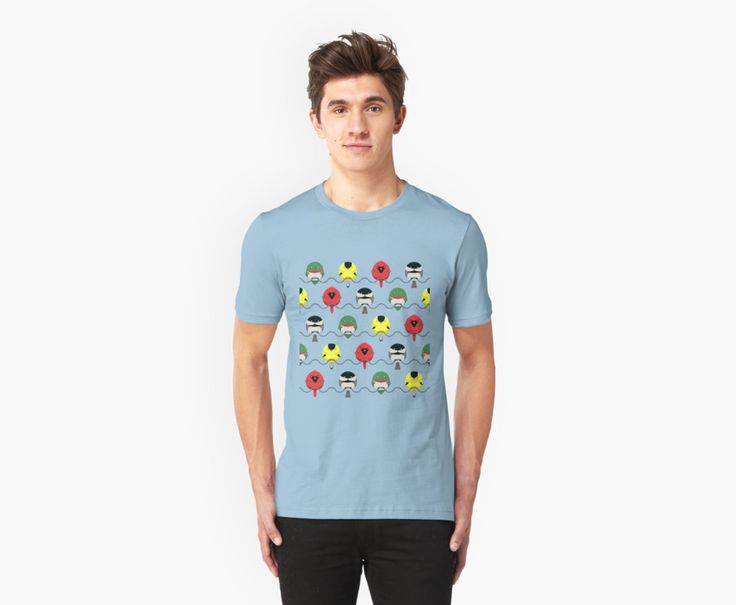 Cartoon Birdy Pattern Men's T-Shirts by AnMGoug on Redbubble. #pattern #birds #tshirt