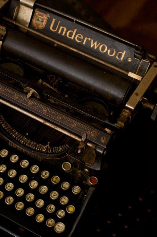 Machine à écrire Underwood 1918