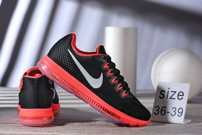 reputable site 2b801 d0766 Authentique Womens Nike Zoom All Out Low Running Shoes peack red Black Noir  Youth Big Boys Shoes