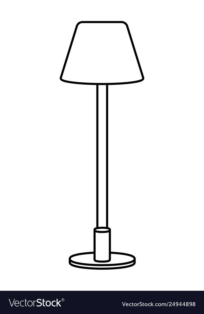Lamp Icon Cartoon Black And White Royalty Free Vector Image Spon Cartoon Black Lamp Icon Ad Vector Free Lamp Free Vector Images
