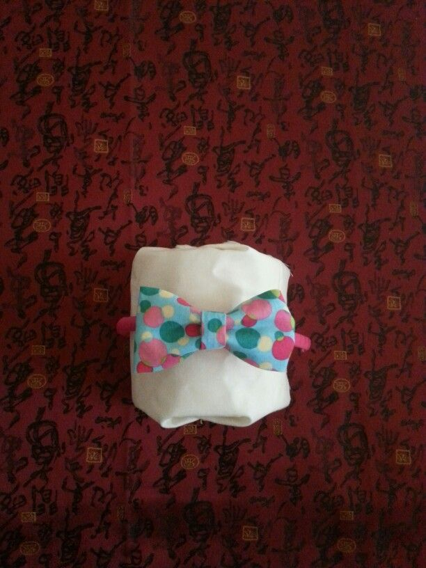 Tiny Miss Bow Tie Head Band