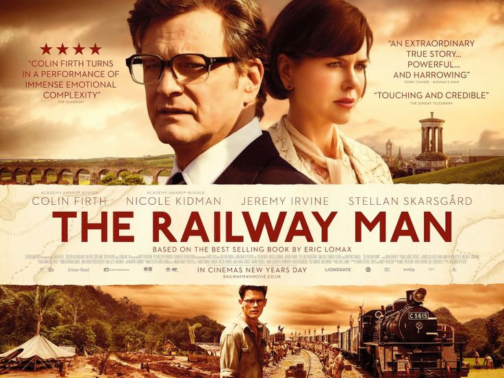 The Railway Man movie review - Colin Firth, Nicole Kidman. Review by YES/NO FILMS, April 2014.