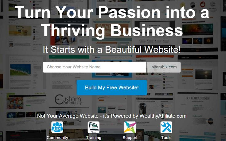 Build a FREE WEBSITE! Take your business to the next level...or start the business you've always wanted! No cost to check it out and try it!  This is legit! I use this company and they are helping me succeed, and I am on my way to building a successful business from my house. #workfromhome #makemoneyfromhome #makemoneyontheinternet #blog #blogging #bloggers #freewebsite