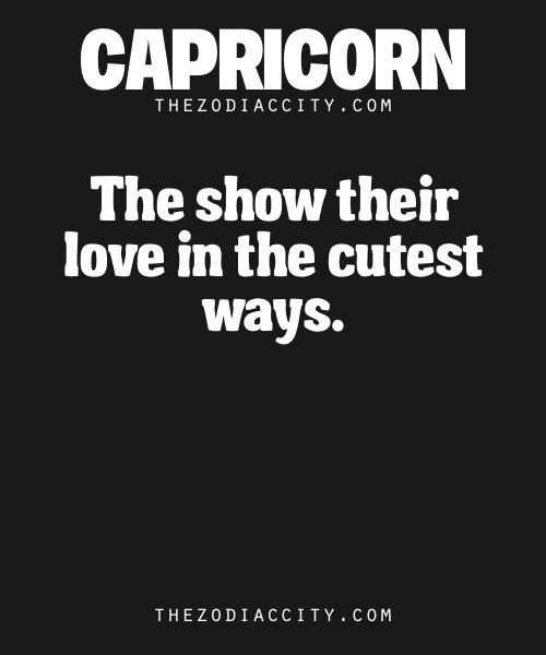 Zodiac Capricorn Facts.