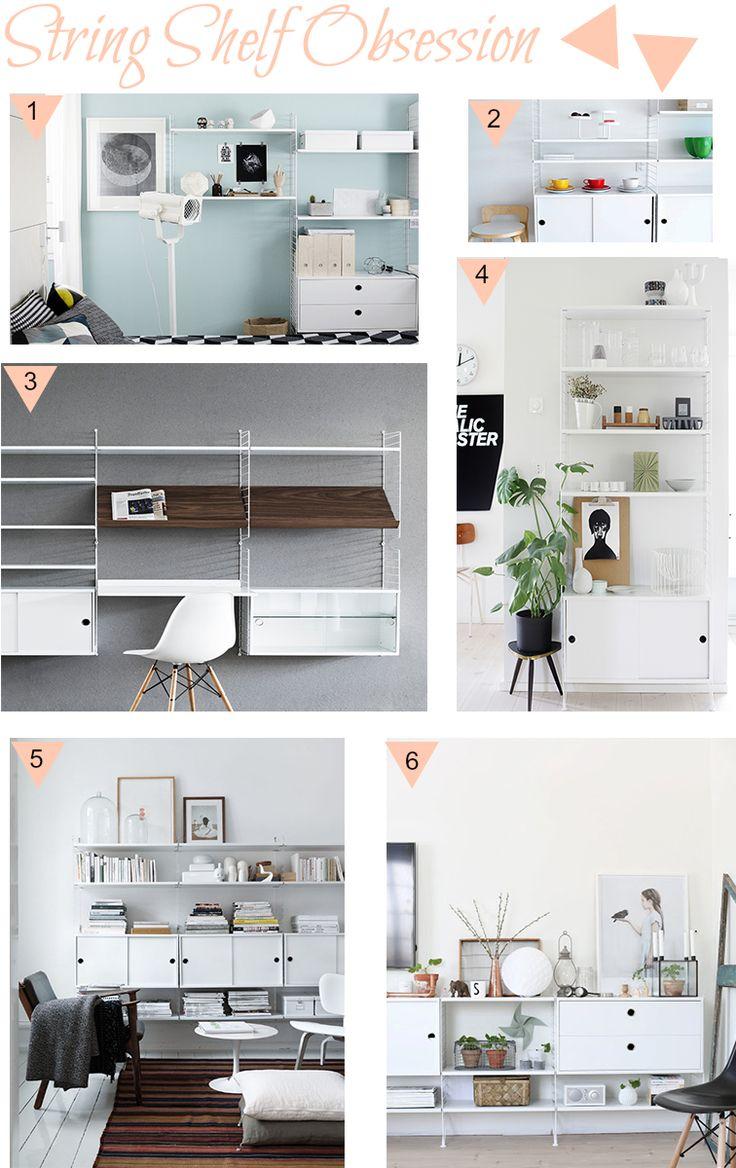 Home Build || String Shelf