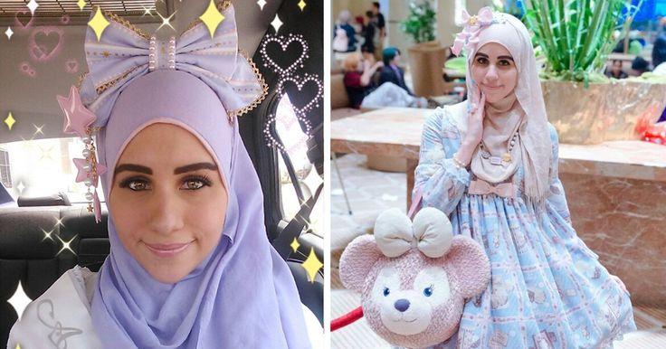 La moda no tiene limites, y ahora ha logrado alcanzar a mujeres musulmanas. Conoce la nueva moda 'Lolita', la tendencia musulmana inspirada en Japón ¡Increíble!