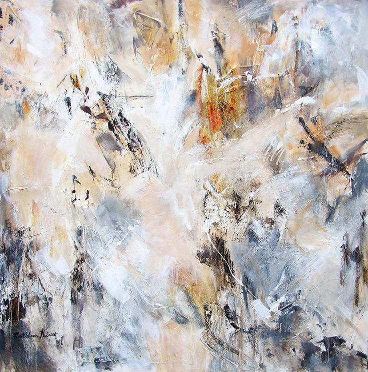 8 best large neutral abstract paintings on canvas images on ... - Libreria Con Scala Paint Your Life
