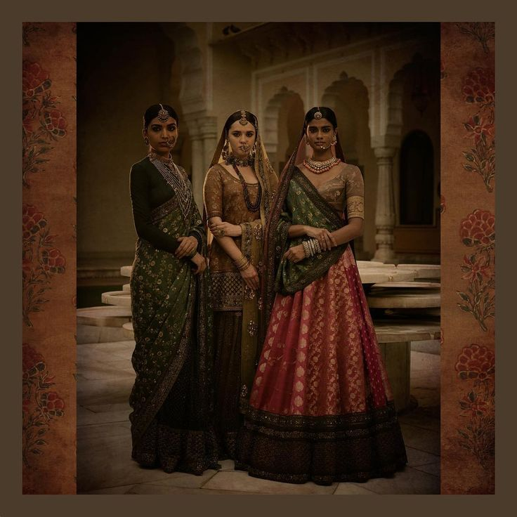 """24.1k Likes, 46 Comments - Sabyasachi Mukherjee (@sabyasachiofficial) on Instagram: """"Hand-dyed, sun-faded brocades, rinsed in tea liquor. Embellished with old zardozi. To create one-…"""""""