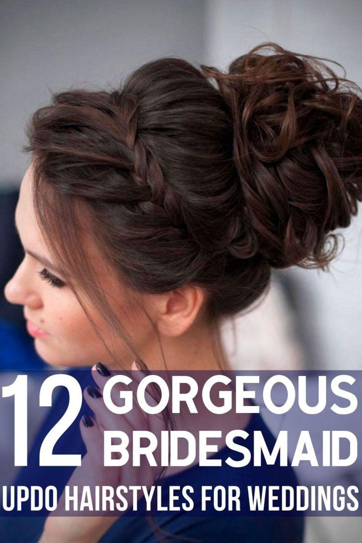 12 Beautiful Bridesmaid Updo Hairstyles For Weddings