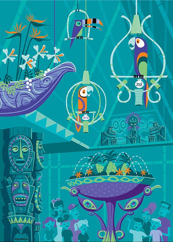 """The Birds Sing"" - Disneyland Enchanted Tiki Room 50th Anniversary 