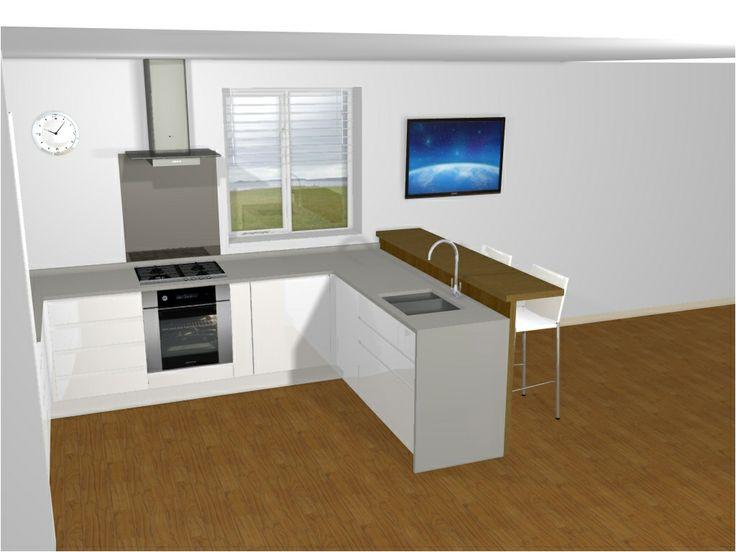 white gloss handleless segreto range from mereway. Black Bedroom Furniture Sets. Home Design Ideas