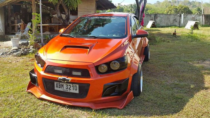 Miles StaCruz Getuya with some serious aero courtesy of Mindart bodykits all the way from Iloilo. #mnlstreetkings #rulethystreets #chevrolet #sonic