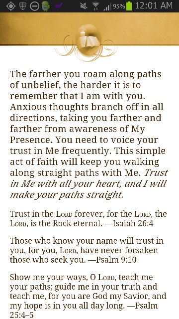 """Isaiah 26:4,Psalm 9:10,Psalm 25:4-5 KJV """"Isaiah 26:4Trust ye in the LORD for ever: for in the LORD JEHOVAH is everlasting strength:Psalm 9:10 """"And they that know"""
