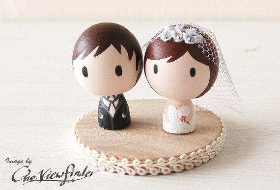 figuras de tarta de boda originales