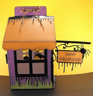 Cricut Sweet Tooth Boxes and Happy Hauntings Cartridges.  *
