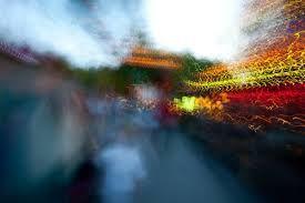 Henrik Kettunen abstrakti näky, liike, pitkä valotus, tärähdys