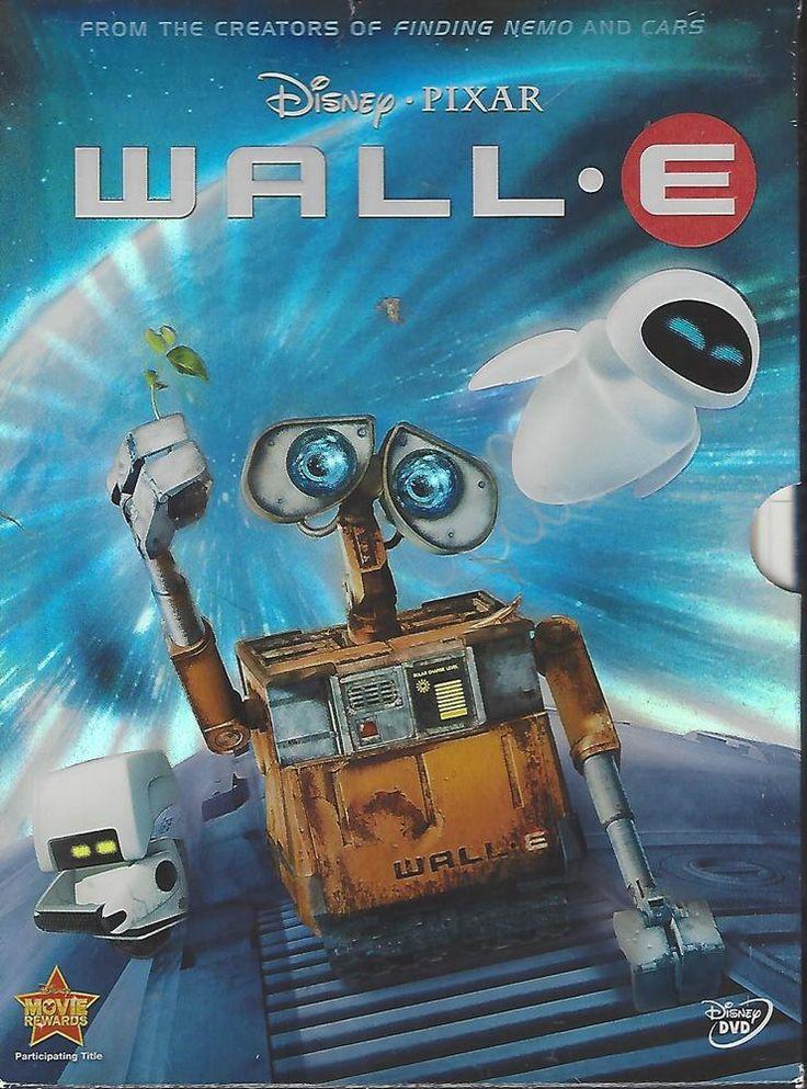 WallE (DVD, 2008) Wall e movie, Kids' movies, Pixar movies