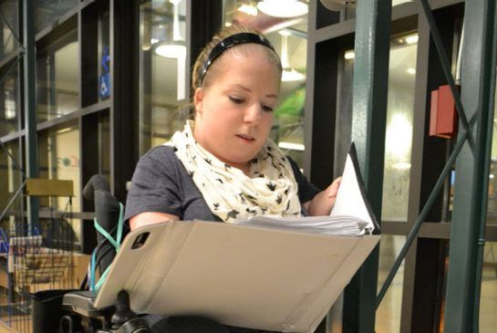 Jade Ruchkall would like to see voters become more educated about disability issues.