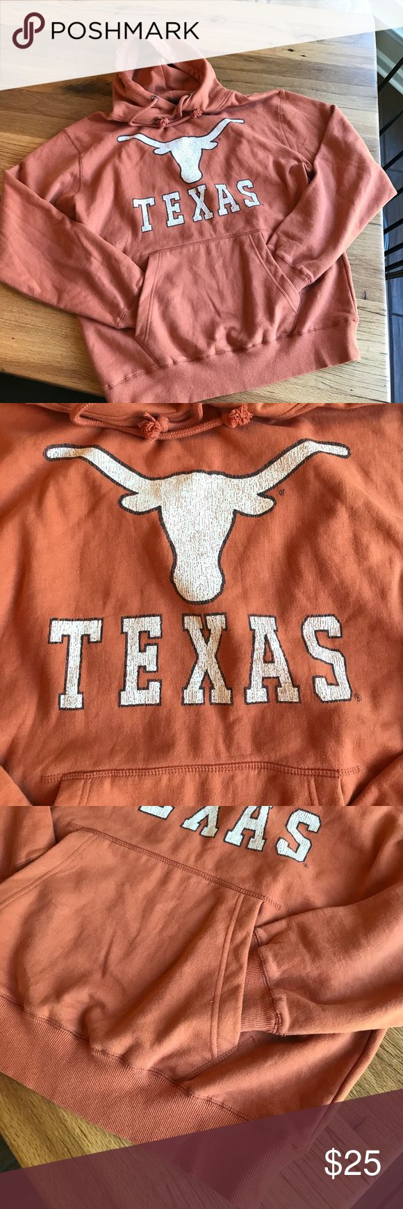 Texas Longhorns hoodie from Colosseum Athletics Pre loved but in excellent condition! Texas Longhorns hoodie. Soft and comfortable. Broken in. Cotton/Polyester blend!  Football season is coming! Colosseum Athletics Shirts Sweatshirts & Hoodies