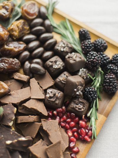 A chocolate bar: http://www.stylemepretty.com/2015/12/09/wedding-reception-food-stations/