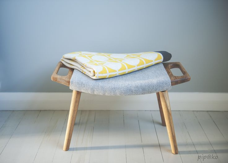 Made here in New Zealand, this gorgeous Oak stool is sure to please any feet or bottoms.  #newzealand #newzealandmade