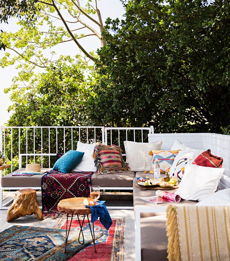Best Patios Images On Pinterest Backyard Ideas Gardens And - Good housekeeping patio furniture