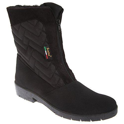 Mod Comfys Damen Thermo Winterstiefel / Stiefel mit Reißverschluss in der Mitte - http://on-line-kaufen.de/mod-comfys/mod-comfys-damen-thermo-winterstiefel-stiefel-in