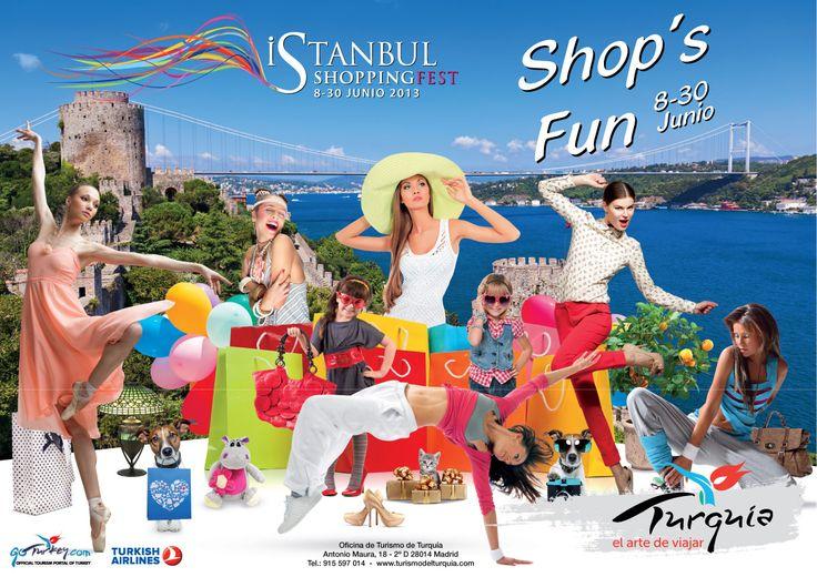 Istambul é a capital das compras pela terceira vez em Junho com o Istambul Shopping Fest