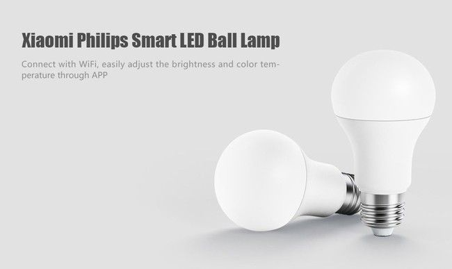 Oferta Flash Bombilla Led Inteligente Xiaomi Philips Smart Led Ball Lamp Por Solo 7 Euros Light App Led Bulb
