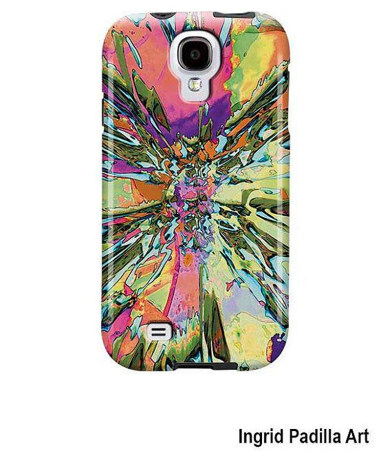Samsung Galaxy S4 Case Samsung Galaxy S3 Funky by ingridsart