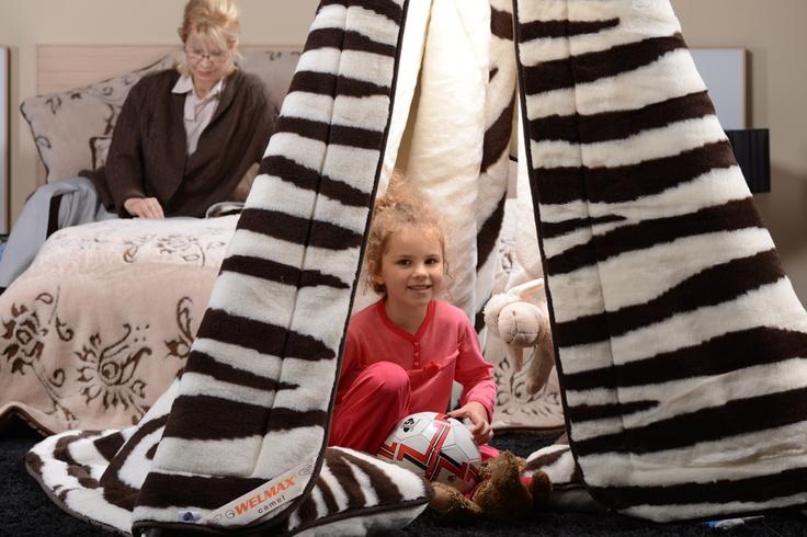 Koc - Pożegnanie z Afryką  #koce #sypialnie #bedrooms #bedding
