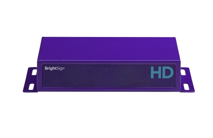 BrightSign's HD220 is a WiFi-enabled digital signage media player capable of playing multi-zoned content using information stored on a SD card.      This is an ideal player for both simple and advanced digital signage applications.  Can be used for in-store displays, menu boards, digital billboards and more.  Signpost Digital is an authorized reseller of this product and are happy to answer any questions you may have.