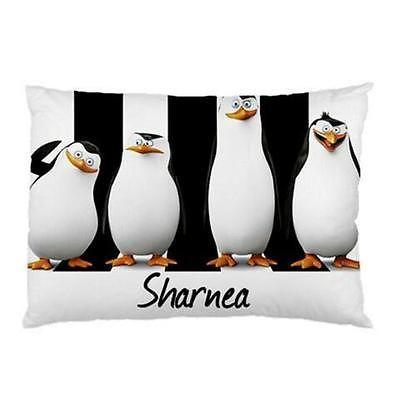 Madagaster  Personalised Pillowcase Kids Children's Gift  'You Choose Name'