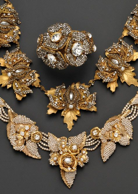 miriam haskell-Vintage Jewelry Queen!!!///www.annmeyersignatureevents.com