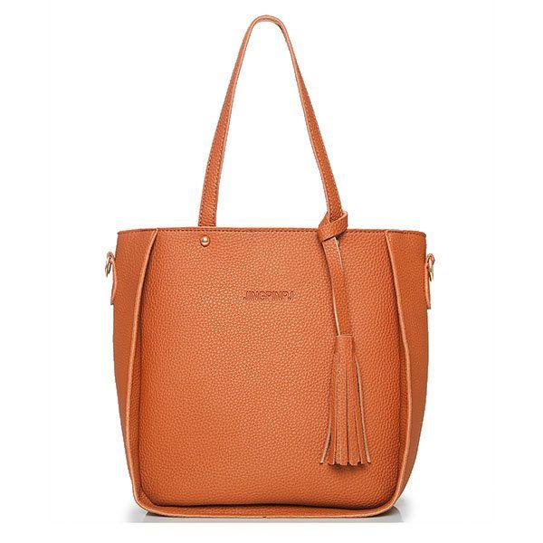 4 PCS PU Leather High-end Handbags For Women Shoulder Bags
