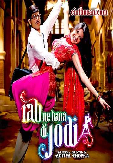 "Rab Ne Bana Di Jodi (Hindi: रब ने बना दी जोड़ी; translation: A Match Made by God)[5] commonly referred to as RNBDJ, is a 2008 Indian romantic comedy film directed by Aditya Chopra and produced by Yash Raj Films. The film stars Shahrukh Khan and movie debutant Anushka Sharma. Khan plays a mild-mannered office worker named Surinder Sahni, whose love for the beautiful and vivacious Taani (Sharma) causes him to transform himself into the loud and fun-loving ""Raj"" in order to win her love."