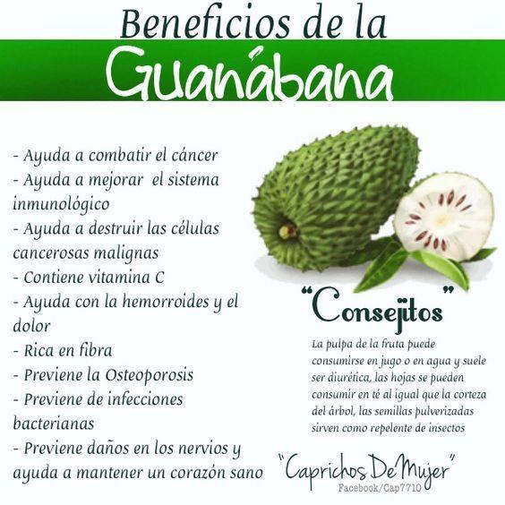 Beneficios de la guanábana: