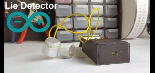 Construye un detector de mentiras con Arduino #arduino #makers #diy