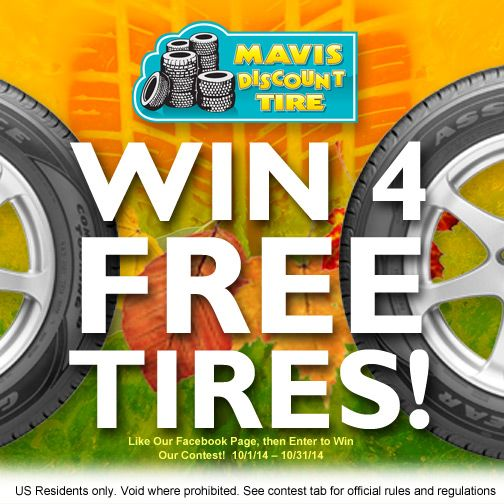 Mavis tire discount coupons