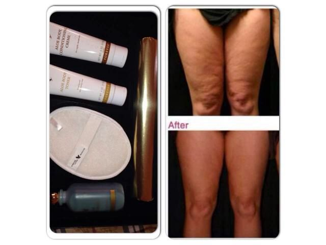 Treat cellulite with an aloe toning wrap kit!  www.myflpbiz.com/forever4uinsideandout